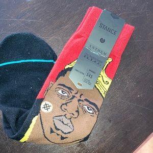 NWT Stance crew socks. Notorious Big